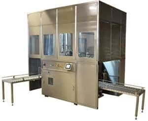 Solvac Automatic hermetically sealed vapour/liquid cleaning system