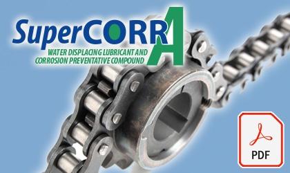 SuperCORR A dry lubricant spray